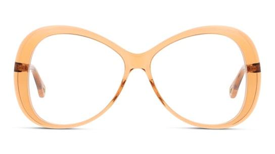 CH 0011O (Large) Women's Glasses Transparent / Orange