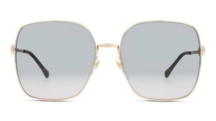 Gucci GG 0879S (001) Sunglasses Grey / Gold