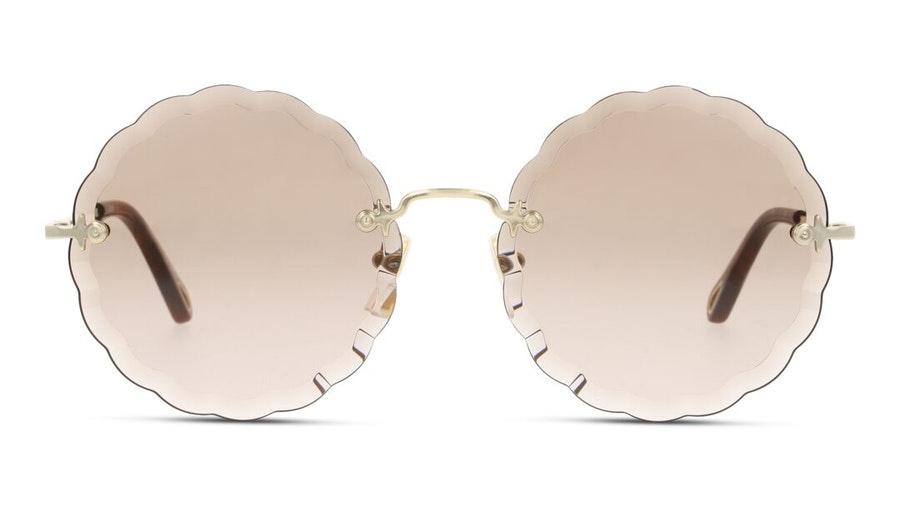 Chloe Rosie CH 0047S Women's Sunglasses Brown / Gold