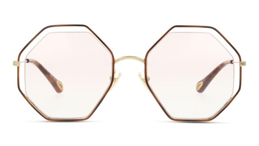 Chloe Poppy CH 0047S Women's Sunglasses Pink / Tortoise Shell