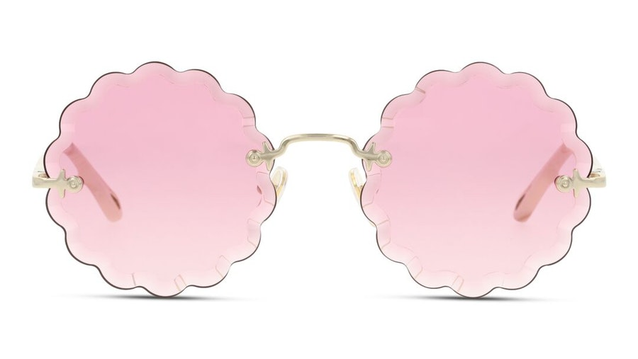 Chloe Rosie CH 0047S Women's Sunglasses Pink / Gold