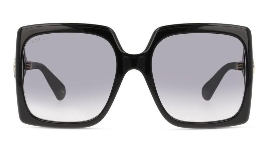 Gucci GG 0876S (001) Sunglasses Grey / Black