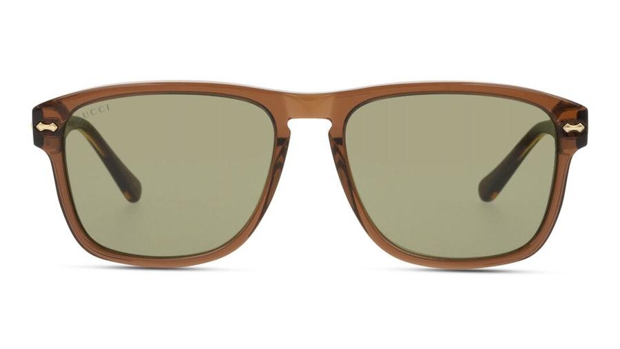 Gucci GG 0911S Men's Sunglasses Green / Brown
