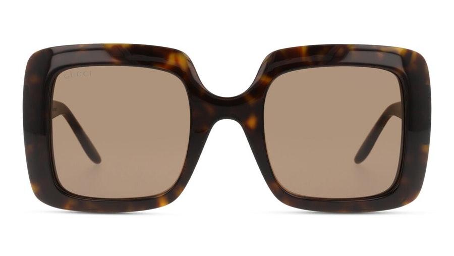 Gucci GG 0896S (002) Sunglasses Brown / Havana