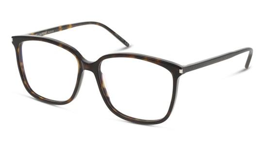 SL 453 (Large) Women's Glasses Transparent / Black