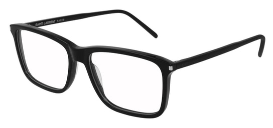 SL 454 (Large) Men's Glasses Transparent / Black