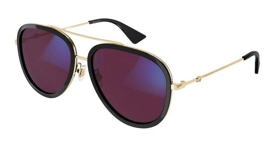 Blue & Beyond GG 0062S Men's Sunglasses Pink / Black