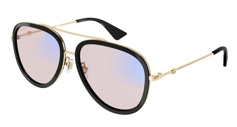Gucci Blue & Beyond GG 0062S Men's Sunglasses Pink / Black