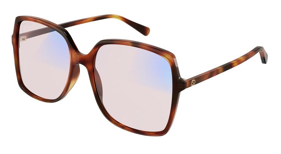 Gucci Blue & Beyond GG 0544S (006) Sunglasses Pink / Havana