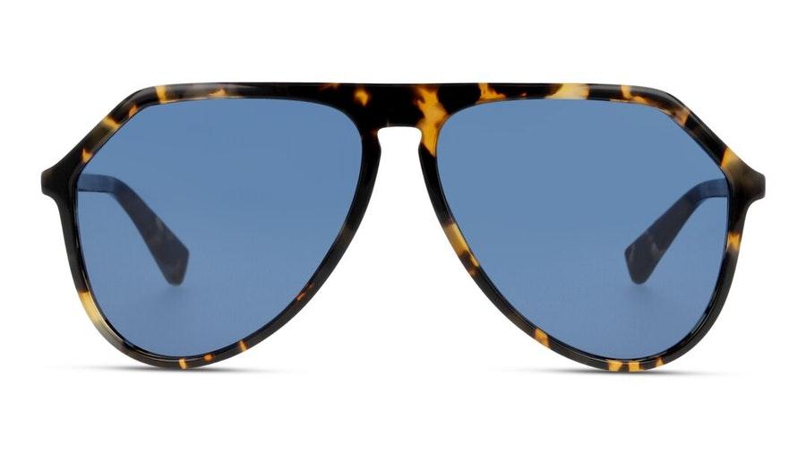 Dolce & Gabbana DG 4341 (314180) Sunglasses Blue / Tortoise Shell