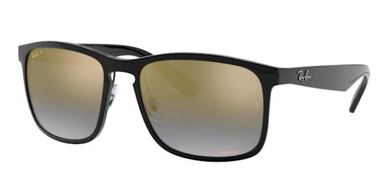 RB 4264 Men's Sunglasses Gold / Black