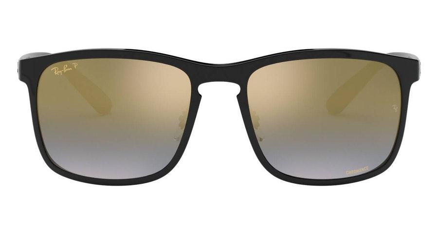 Ray-Ban RB 4264 (601/J0) Sunglasses Gold / Black