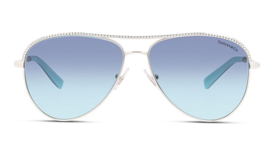 Tiffany & Co TF 3062 (60479S) Sunglasses Blue / Silver