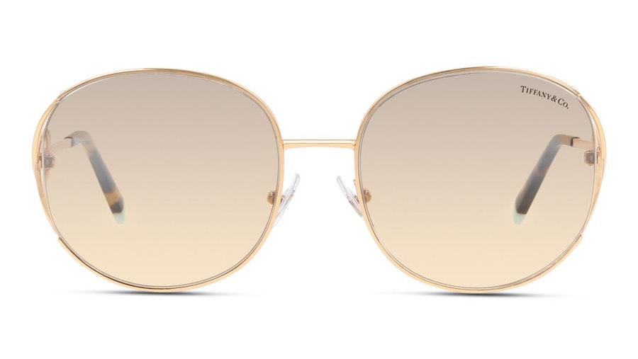 Tiffany & Co TF 3065 Women's Sunglasses Brown / Gold