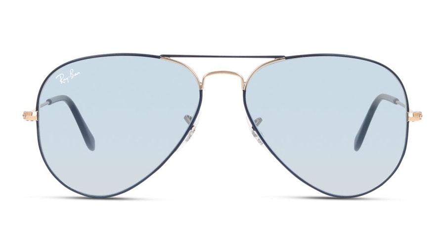 Ray-Ban Aviator RB 3025 (9156AJ) Sunglasses Blue / Grey