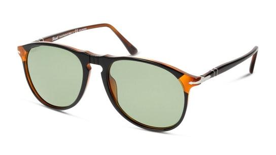 PO 6649S Men's Sunglasses Green / Black