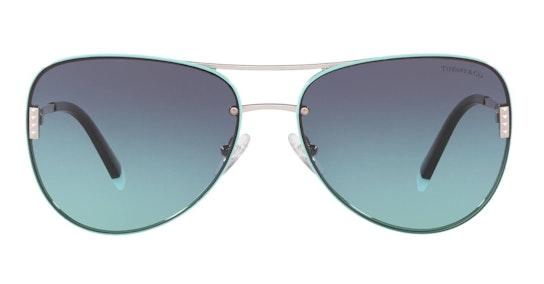 TF 3066 Women's Sunglasses Blue / Silver