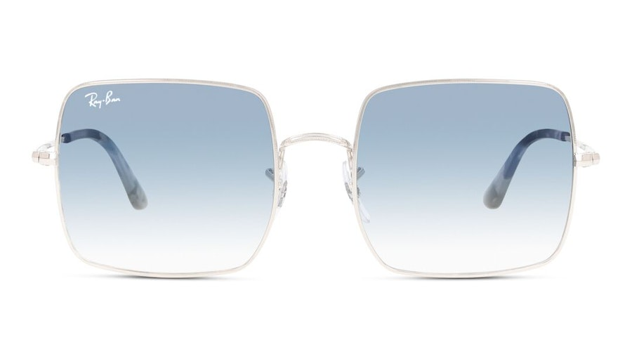 Ray-Ban Square RB 1971 Unisex Sunglasses Blue / Silver
