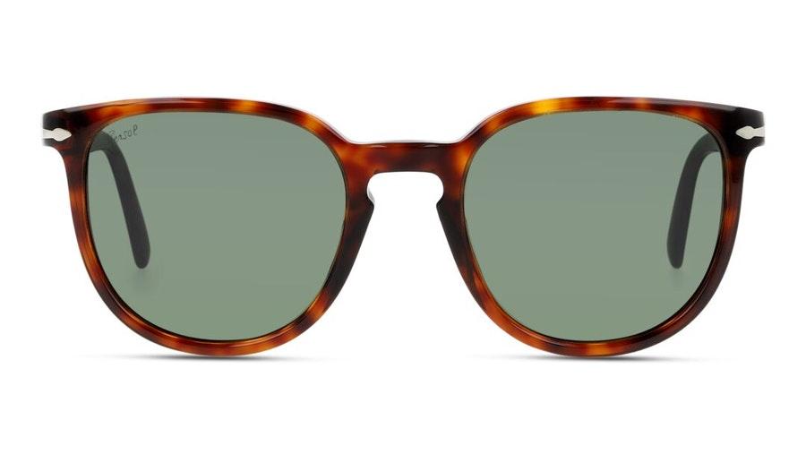 Persol PO 3226S (24/31) Sunglasses Green / Tortoise Shell