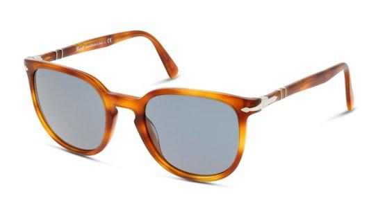 PO 3226S Men's Sunglasses Blue / Tortoise Shell