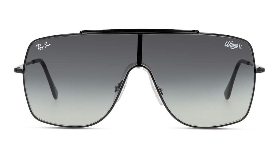 Ray-Ban Wings II RB 3697 (002/11) Sunglasses Grey / Black
