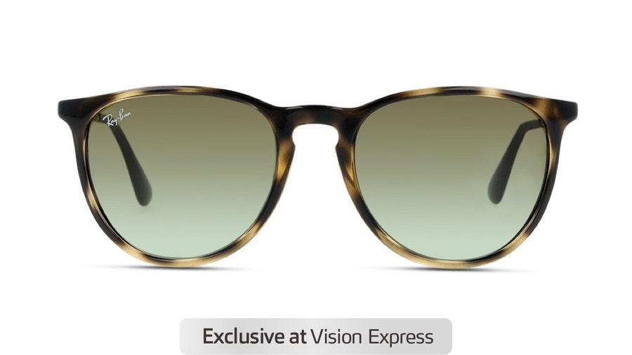 Ray-Ban Erika RB 4171 (6440E8) Sunglasses Green / Tortoise Shell