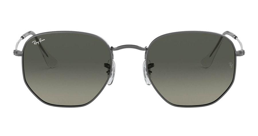 Ray-Ban Hexagonal RB 3548N Men's Sunglasses Grey/Grey