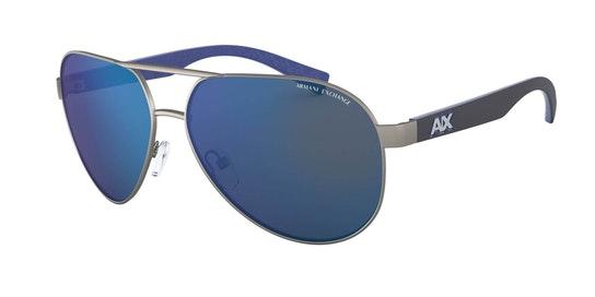 AX 2031S Men's Sunglasses Blue / Grey