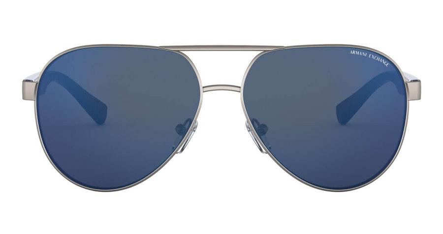 Armani Exchange AX 2031S Men's Sunglasses Blue/Grey