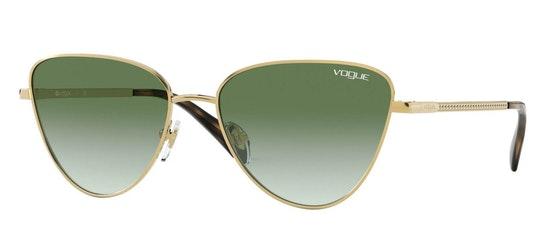 VO 4145SB Women's Sunglasses Green / Gold