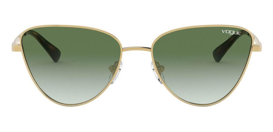 Vogue VO 4145SB (280/8E) Sunglasses Green / Gold
