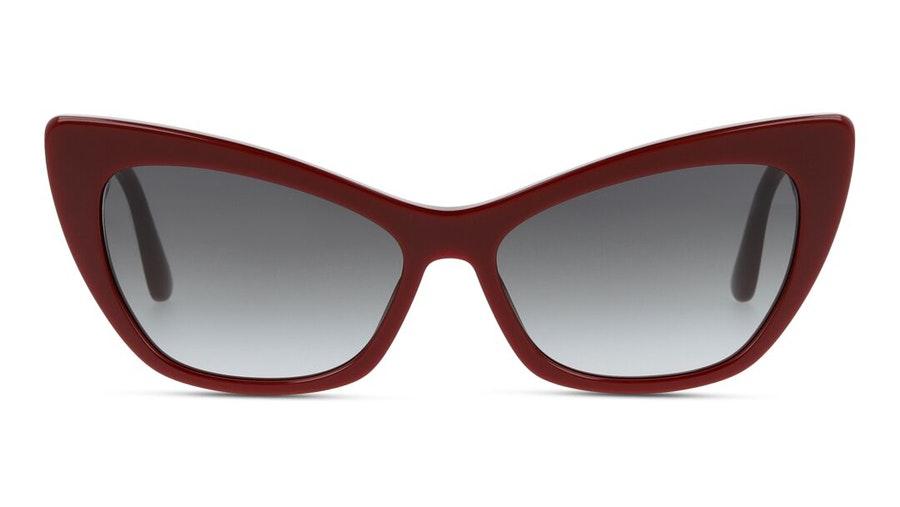 Dolce & Gabbana DG 4370 (30918G) Sunglasses Grey / Burgundy
