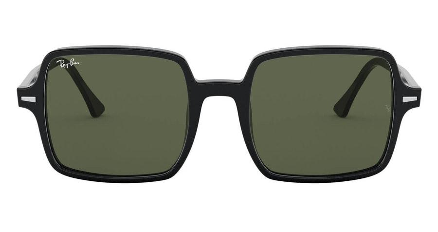 Ray-Ban Square II RB 1973 Women's Sunglasses Green/Black