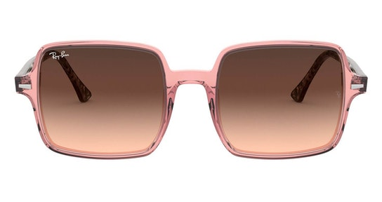 Square II RB 1973 Women's Sunglasses Brown / Pink