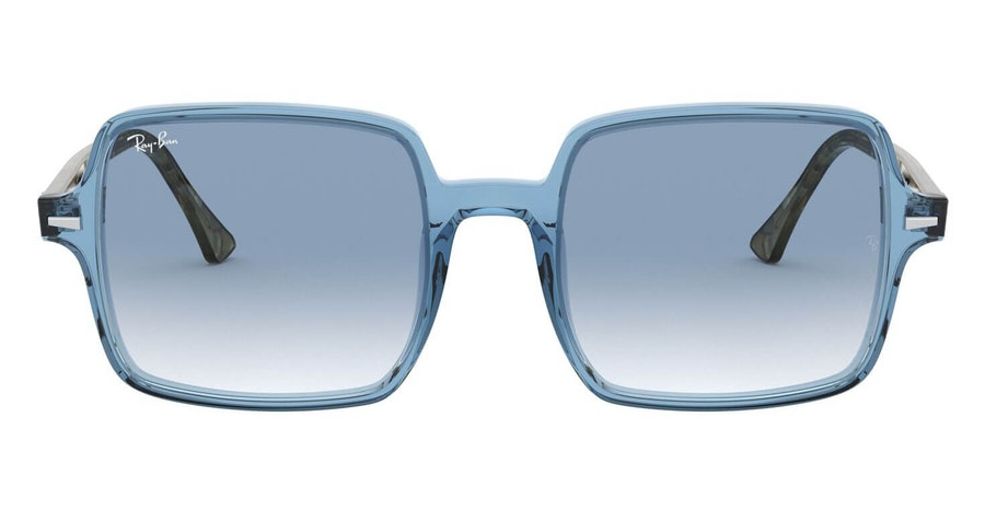 Ray-Ban Square II RB 1973 (12833F) Sunglasses Blue / Blue