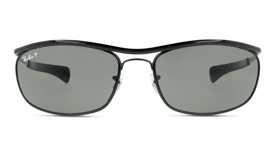 Ray-Ban Olympian I Deluxe RB 3119M Men's Sunglasses Green / Black