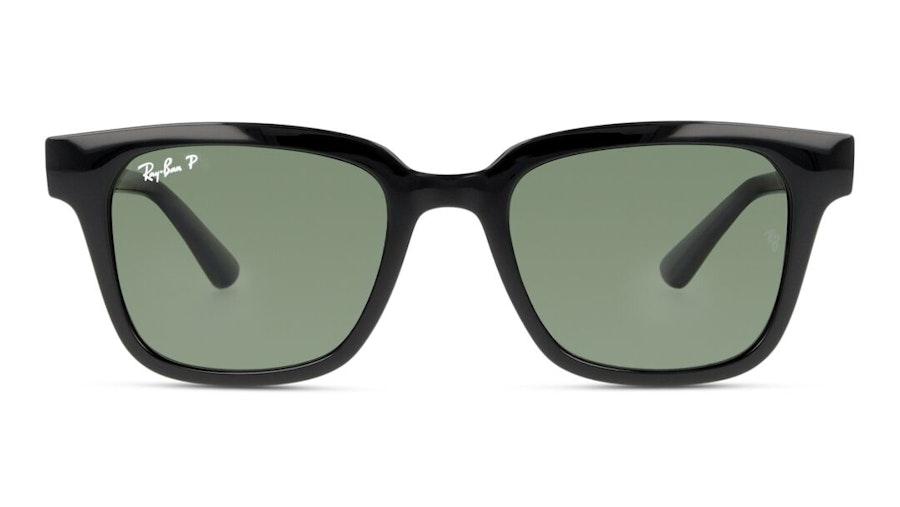 Ray-Ban RB 4323 (601/9A) Sunglasses Green / Black
