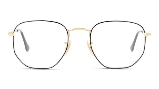 RX 6448 Unisex Glasses Transparent / Black