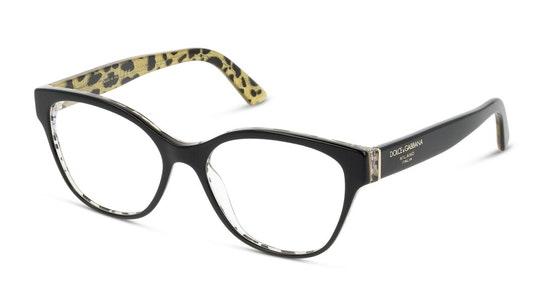 DG 3322 Women's Glasses Transparent / Black