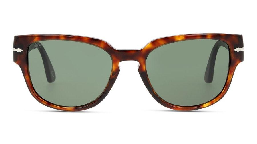 Persol PO 3231S (24/31) Sunglasses Green / Tortoise Shell