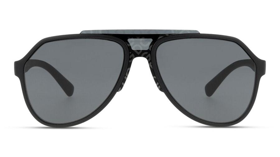 Dolce & Gabbana DG 6128 Men's Sunglasses Grey / Black