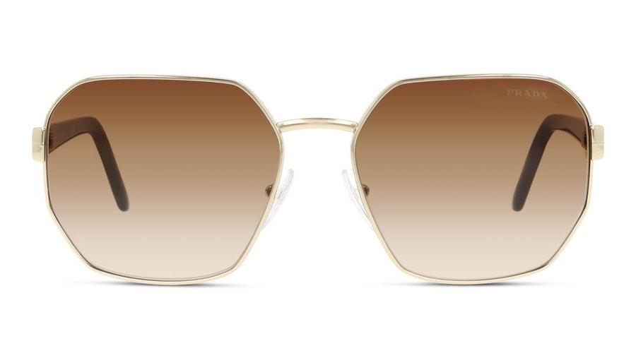 Prada PR 54XS Women's Sunglasses Brown / Gold
