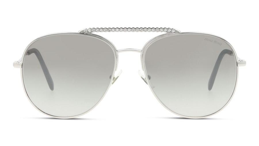 Miu Miu MU 53VS (1BC5O0) Sunglasses Brown / Silver