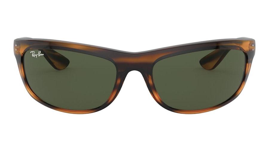 Ray-Ban Balorama RB 4089 (820/31) Sunglasses Green / Tortoise Shell