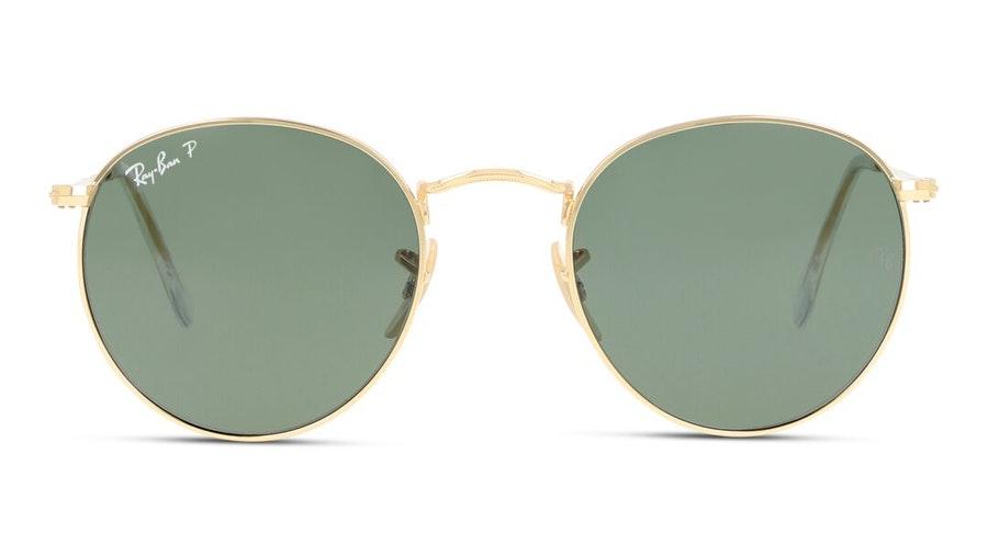 Ray-Ban Round Metal RB 3447 Men's Sunglasses Black / Gold