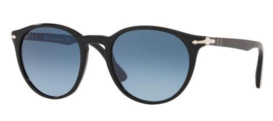 PO 3152S Men's Sunglasses Blue / Black