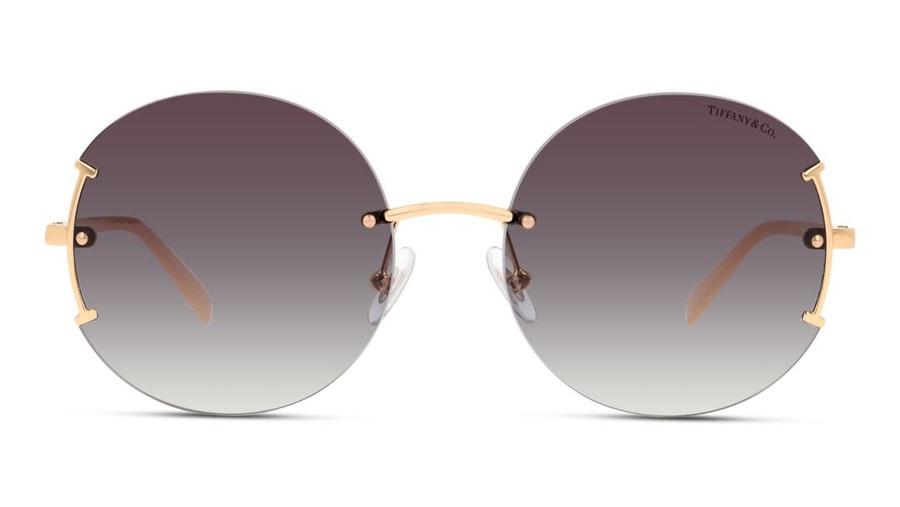 Tiffany & Co TF 3071 (61093C) Sunglasses Violet / Gold