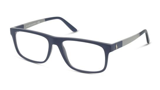 PH 2218 Men's Glasses Transparent / Blue