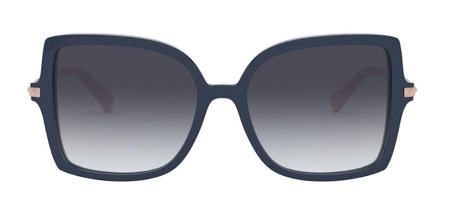 Valentino VA 4072 Women's Sunglasses Grey / Blue