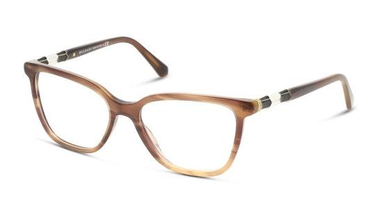 BV 4184B Women's Glasses Transparent / Brown